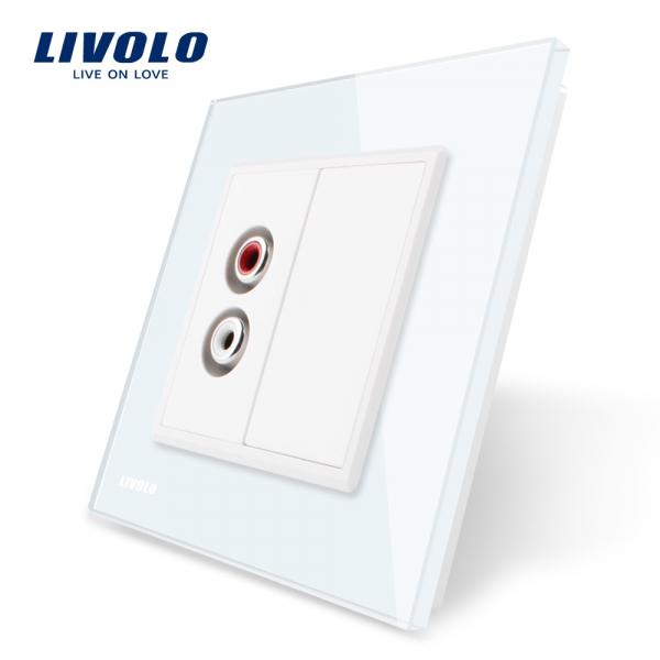 Priză Audio RCA Livolo 0