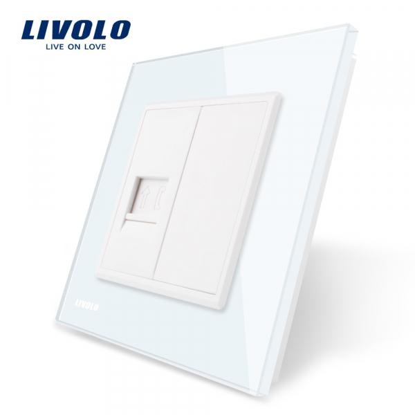 Priză Telefon RJ11 Livolo 0