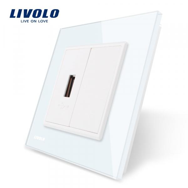 Priză USB Livolo (5V / 2.1A) 0