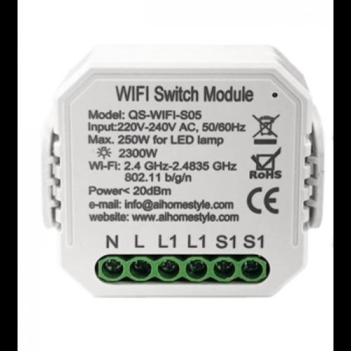 Releu mini 1 canal WiFi Tuya [0]
