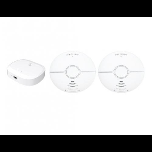 Kit senzori de fum Zigbee WOOX [0]