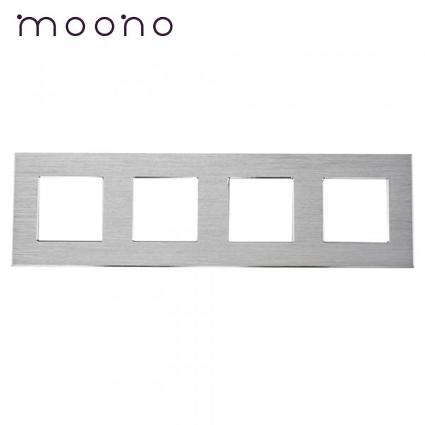 Ramă cvadruplă din aluminiu M2 moono 0