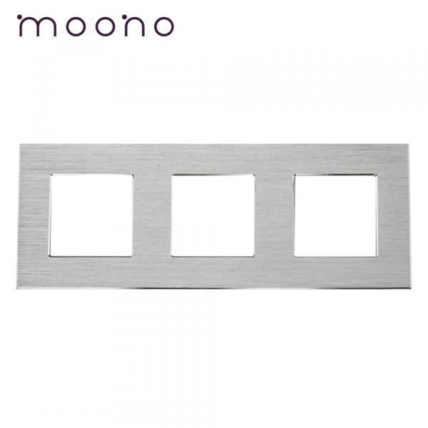Ramă triplă din aluminiu M2 moono 0