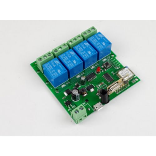 Releu smart WiFi+RF cu 4 canale, 5V-32V SmartWise [0]