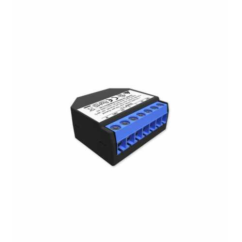 Shelly 2.5 - releu 2 canale pentru jaluzele/ usi garaj cu monitorizare consum 2X 10A [0]