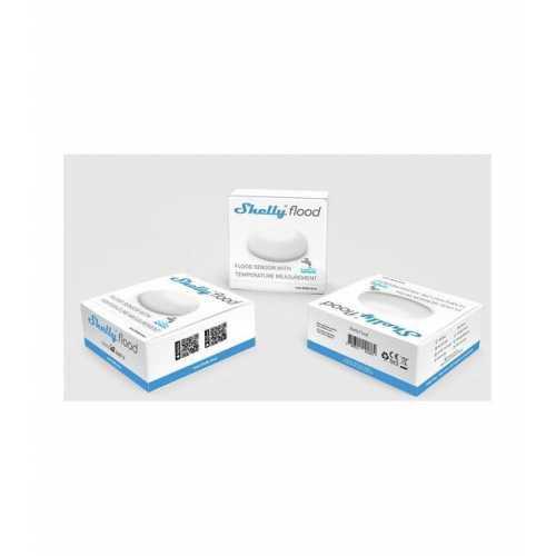 Shelly Flood - senzor inundatie cu masurare temperatura WiFi [1]