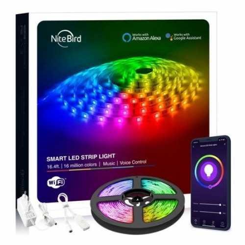 KIT Banda LED smart WiFi RGB Gosund SL2 (5m), Tuya [0]