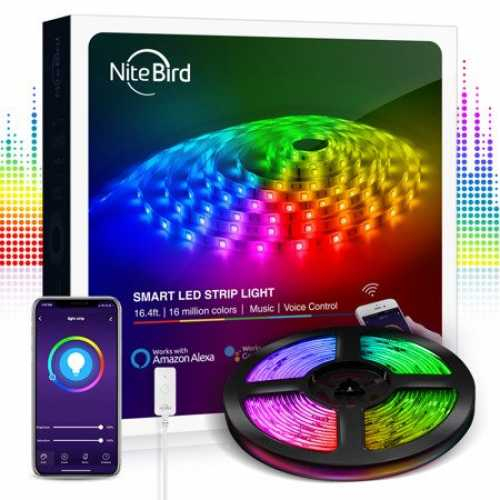 KIT Banda LED smart WiFi RGB Gosund SL2 (5m), Tuya [1]