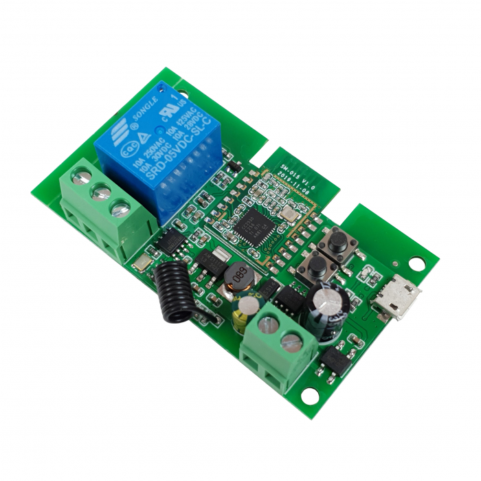 Releu smart cu 1 canal, 5V-32V, dry contact Zigbee + RF SmartWise [0]