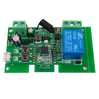 Releu smart cu 1 canal, 5V-32V, dry contact Zigbee + RF SmartWise [2]