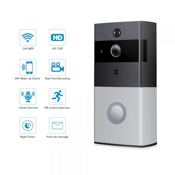 Sonerie Smart WiFi cu cameră video 0