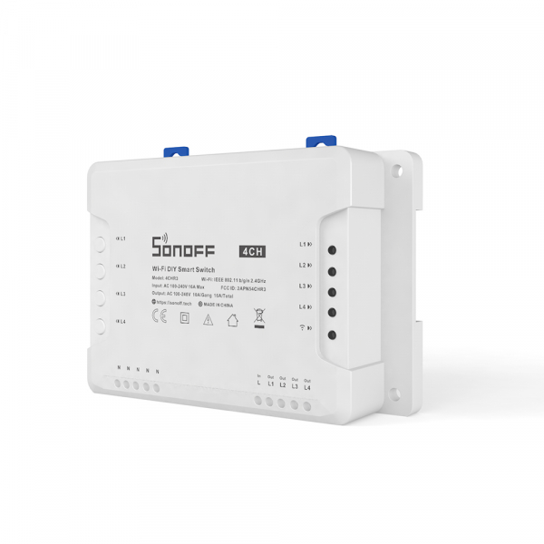 Sonoff 4CH R3 - switch inteligent DIY 4 canale WiFi 1
