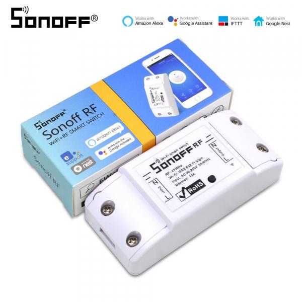 Sonoff RF - switch inteligent 1 canal WiFi și RF
