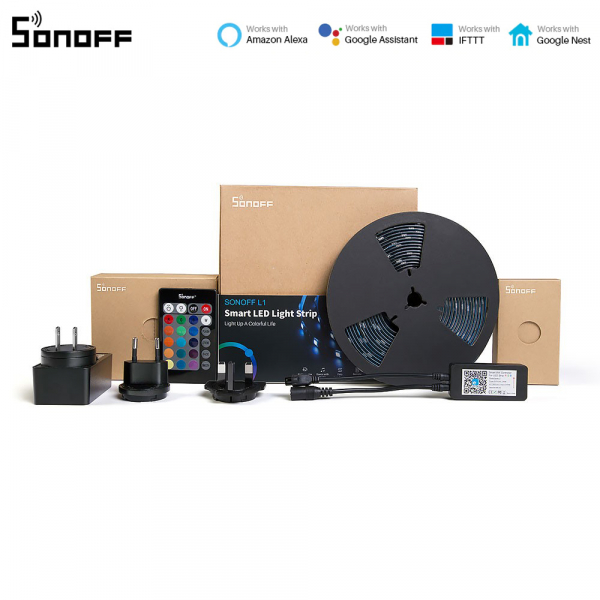 Sonoff L1 - Bandă LED Smart RGB dimmer 2m 0