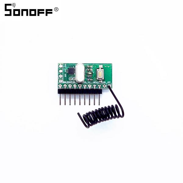 Sonoff modul Receiver RF 433Mhz 0