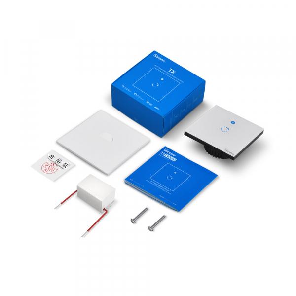 Sonoff T4EU1C - Întrerupător Touch simplu cu control WiFi fără Nul 5