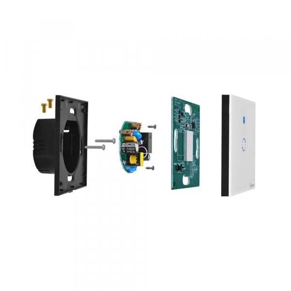 Sonoff T4EU1C - Întrerupător Touch simplu cu control WiFi fără Nul 3