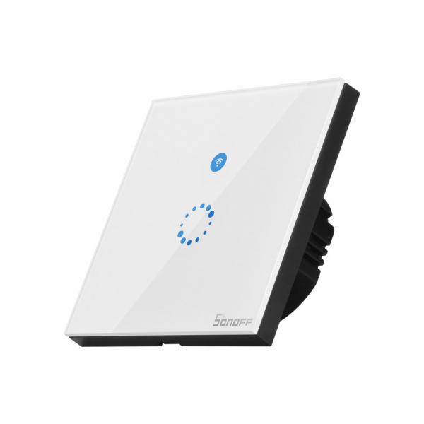Sonoff T4EU1C - Întrerupător Touch simplu cu control WiFi fără Nul 1
