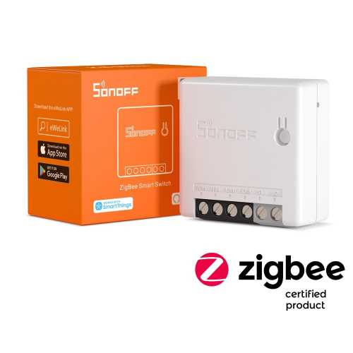 Sonoff Mini ZigBee - switch Smart ZigBee compatibil SmartThings, Amazon Alexa si Philips Hue [0]