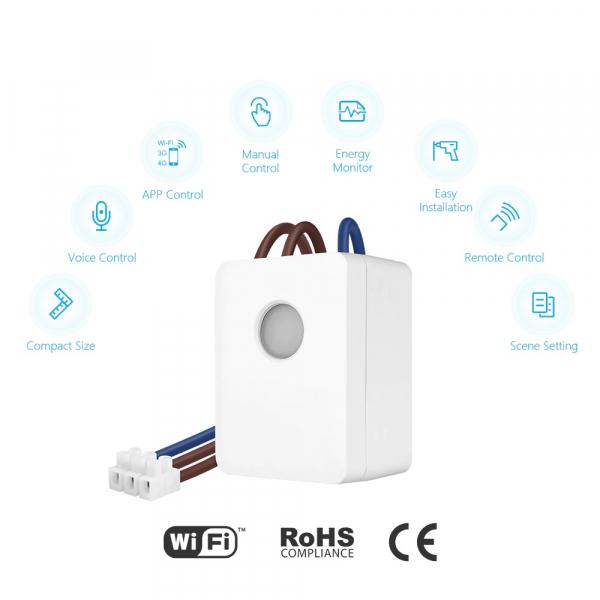 Switch inteligent Broadlink SCB1E cu control WiFi și monitorizare consum 1