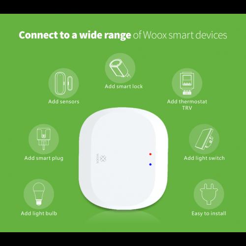 Gateway Smart ZigBee WOOX TUYA [2]