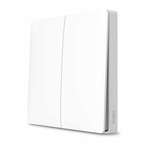 Intrerupator smart wireless dublu Zigbee Aqara [0]