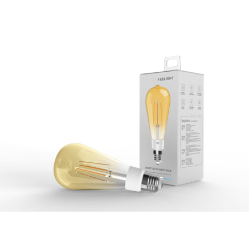 Bec LED smart cu filament ST64 Yeelight [0]