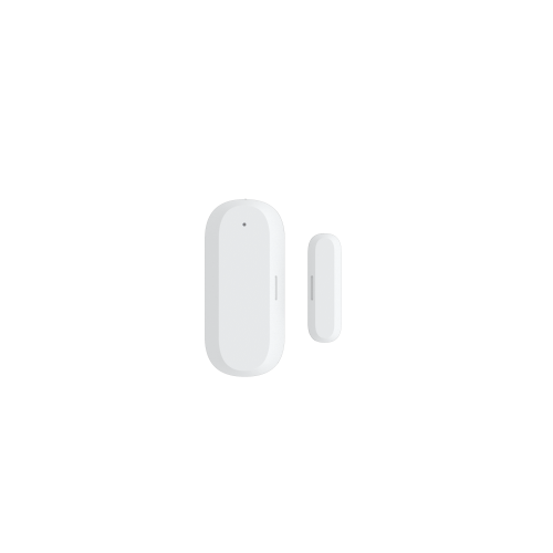 Senzor magnetic pentru usi si ferestre Smart ZigBee WOOX [1]