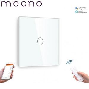 Întrerupător Touch Simplu WIFI+RF Direct - moono0