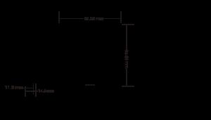 Întrerupător Wireless simplu basculant Kinetic Energy1