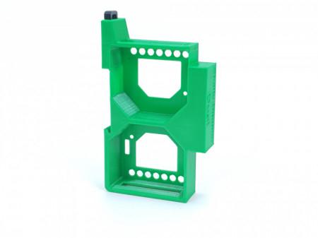Adaptor dublu sina DIN pentru releele Shelly Dimmer si Shelly Dimmer 2 [1]