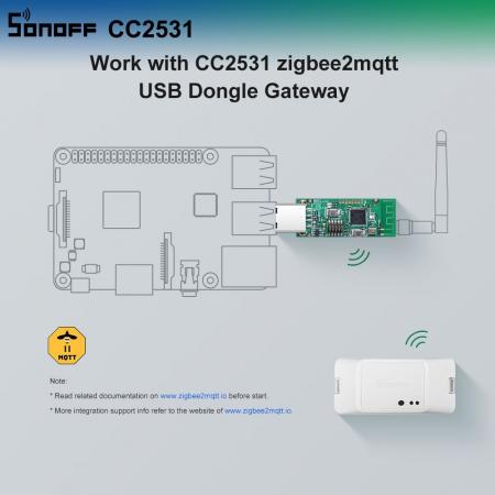 Adaptor USB dongle Zigbee CC2531 Sonoff [4]