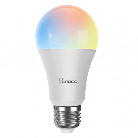 Bec LED smart RGB+CCT WiFi A60 Sonoff [1]