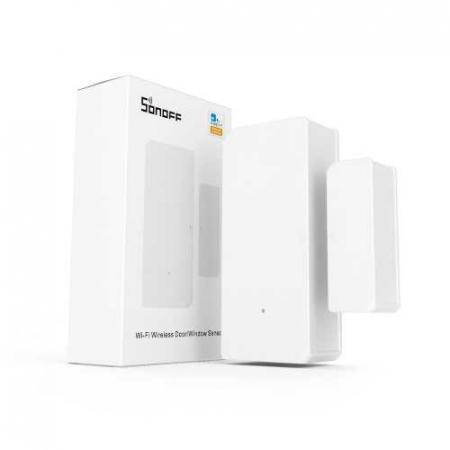 Senzor magnetic usi si ferestre Smart WiFi Sonoff DW2 [0]