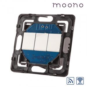 Modul întrerupător touch triplu WiFi și RF moono
