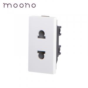 Modul 1/2 priză EURO-US 2P moono0