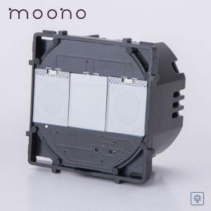 Modul întrerupător touch simplu cu variator (dimmer) moono