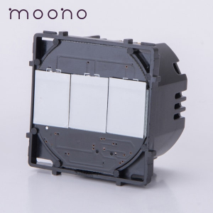 Modul întrerupător touch triplu moono