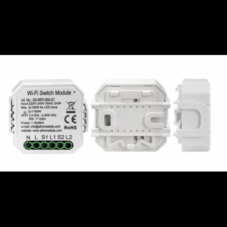 Releu mini 2 canale WiFi Tuya [3]