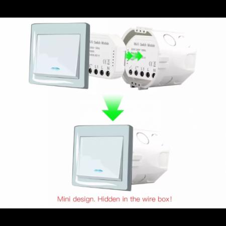 Releu mini 1 canal WiFi Tuya [4]