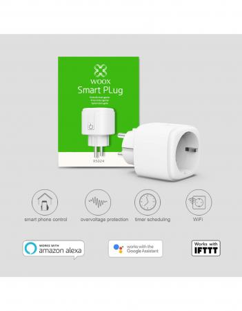 Priza smart WiFi WOOX [1]