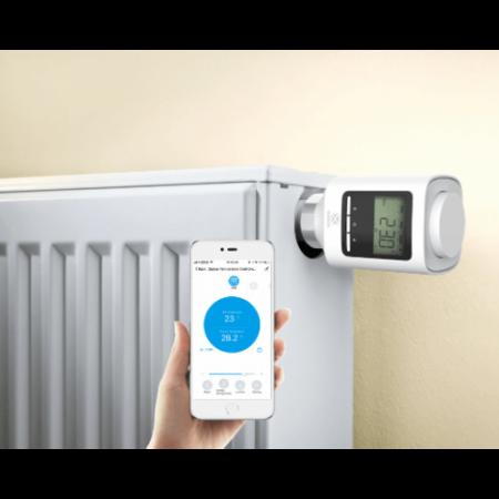 Kit valve radiator si capete termostatate Zigbee WOOX [1]