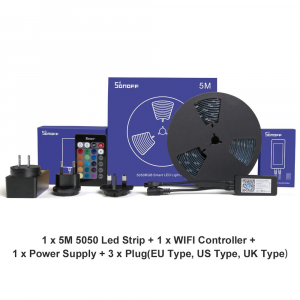 Sonoff L1 - Bandă LED Smart RGB dimmer 5m [5]