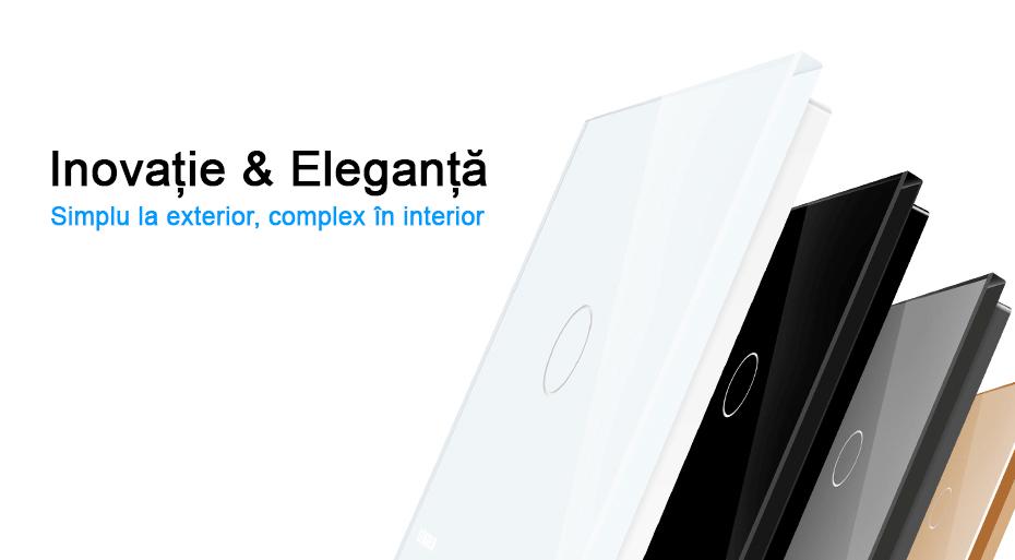 inovatie si eleganta intrerupatoare tactile livolo