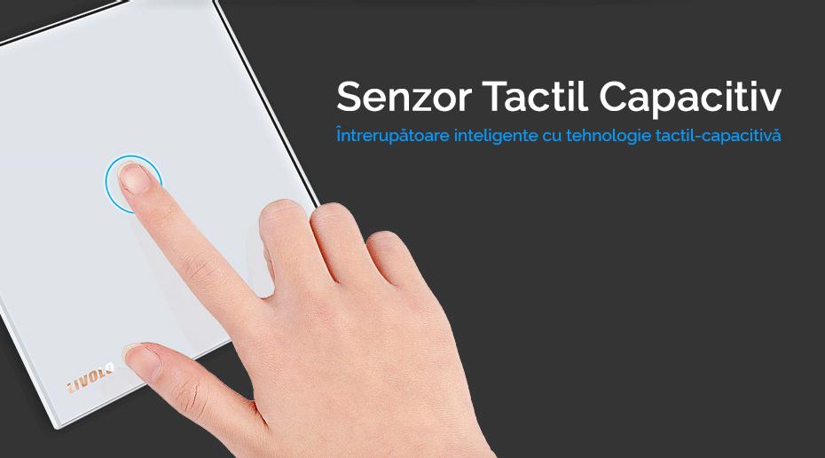 senzor tactile capacitiv intrerupatoare livolo