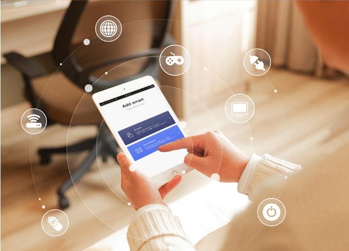 Modul întrerupător touch simplu WiFi moono