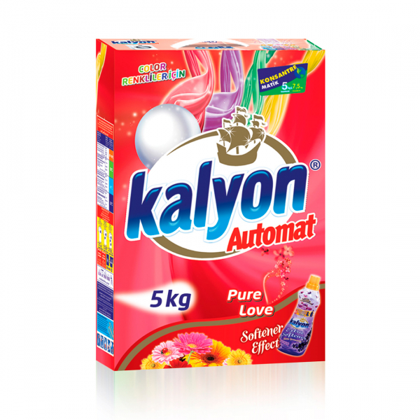 Detergent automat Kalyon Pure Love Color 5 Kg Box 0