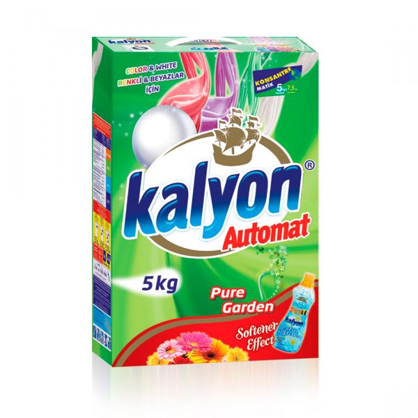Detergent automat Kalyon Pure Garden Color&White 5 Kg Box 0