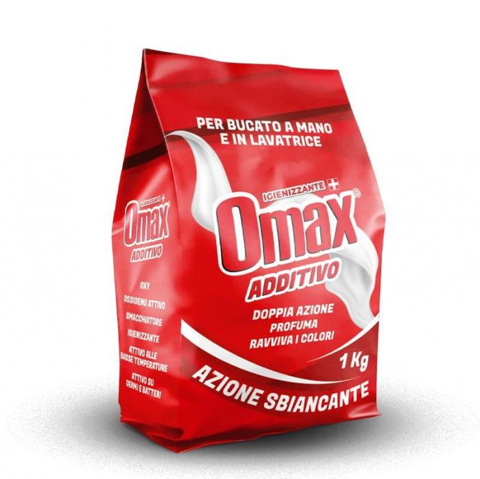Detergent Aditiv OMAX 1kg cu actiune de albire [0]