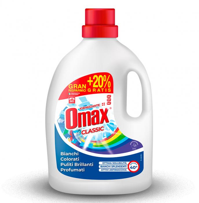 Detergent lichid rufe OMAX Classico 3L - 60 spalari [0]